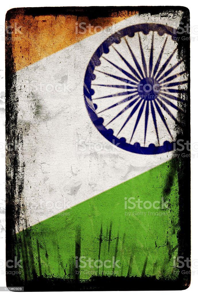 Indian Flag XXL royalty-free stock photo