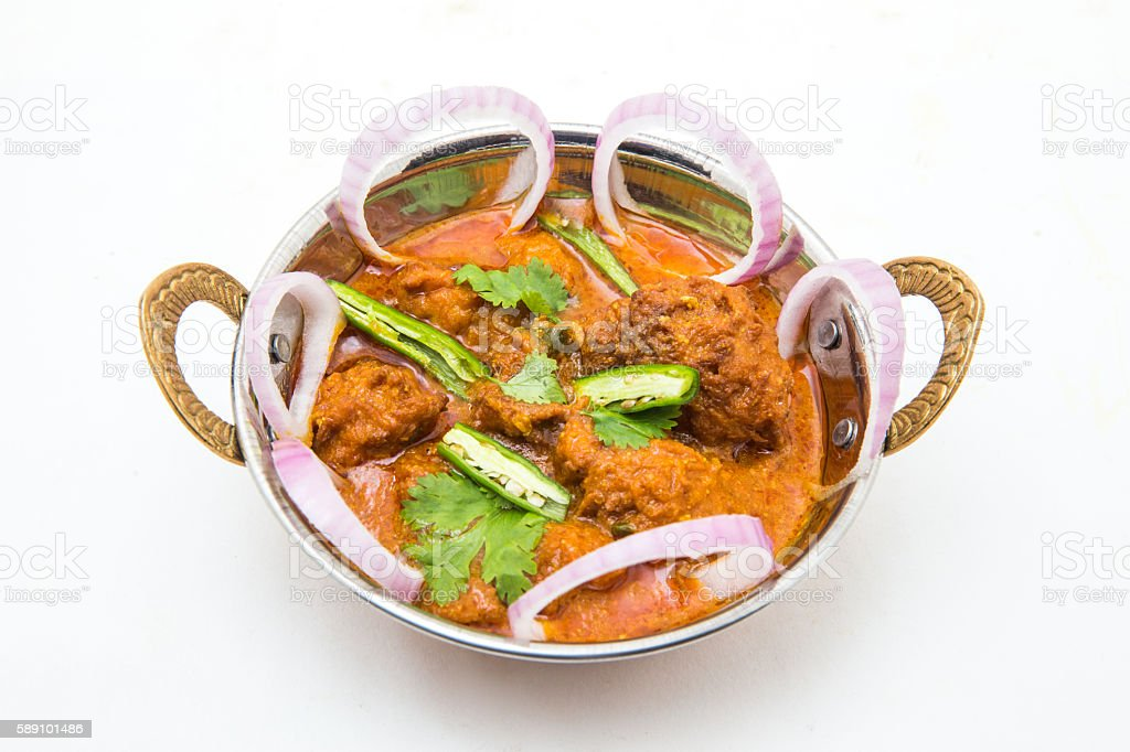 Indian food - Malai Kofta or Veg Kofta stock photo