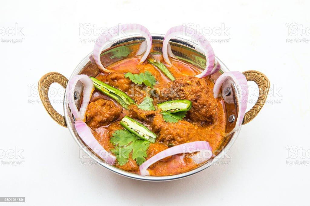 Indian food - Malai Kofta or Veg Kofta stock photo