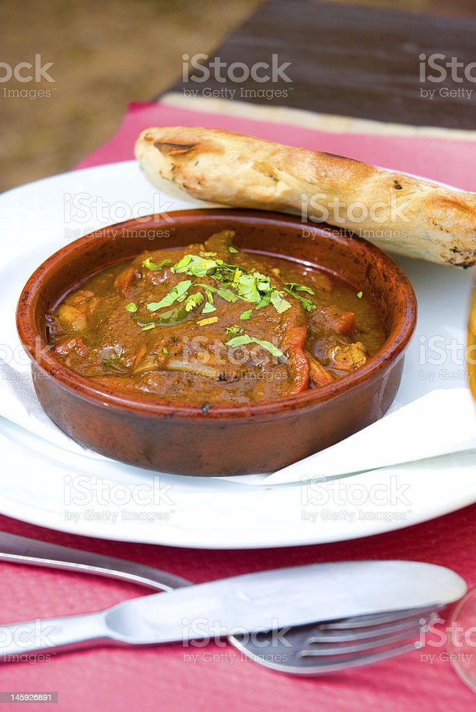Indian food vertical royalty-free stock photo