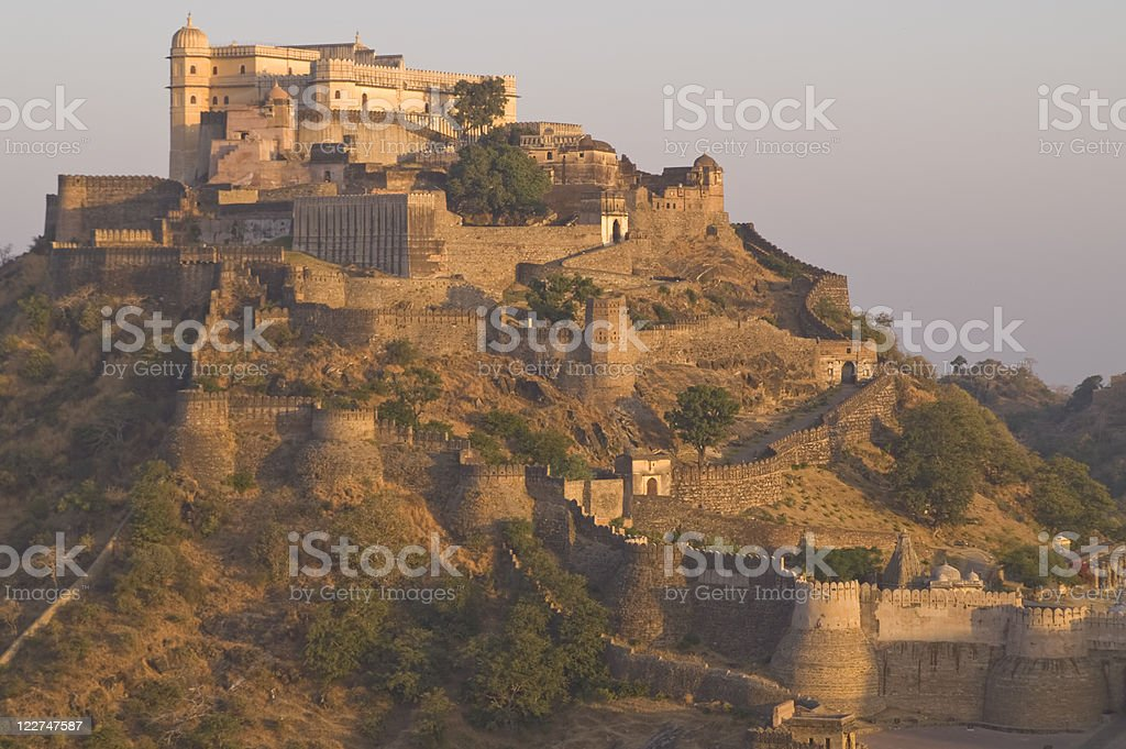 Indian Fortress stock photo