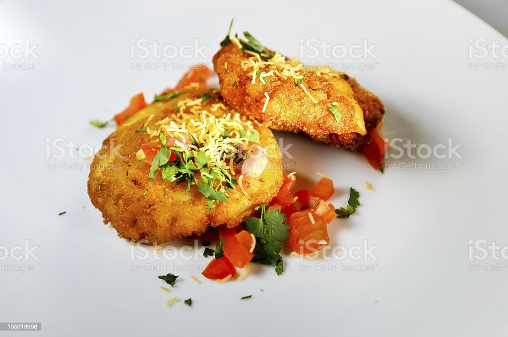 Indian fried savoury royalty-free stock photo