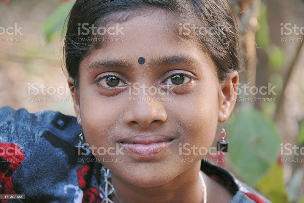 indian girl royalty-free stock photo