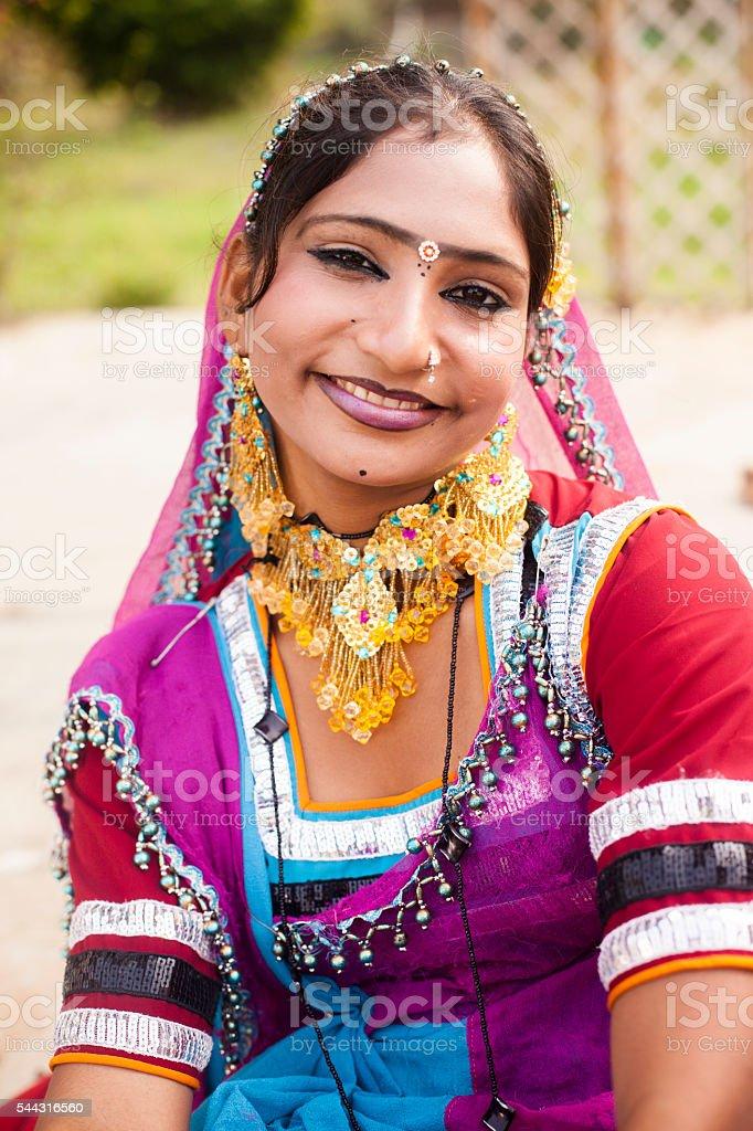 Indian Girl Posing stock photo