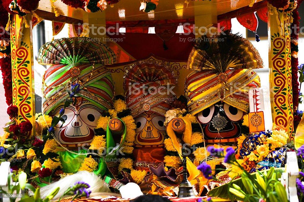 Indian God Designs stock photo