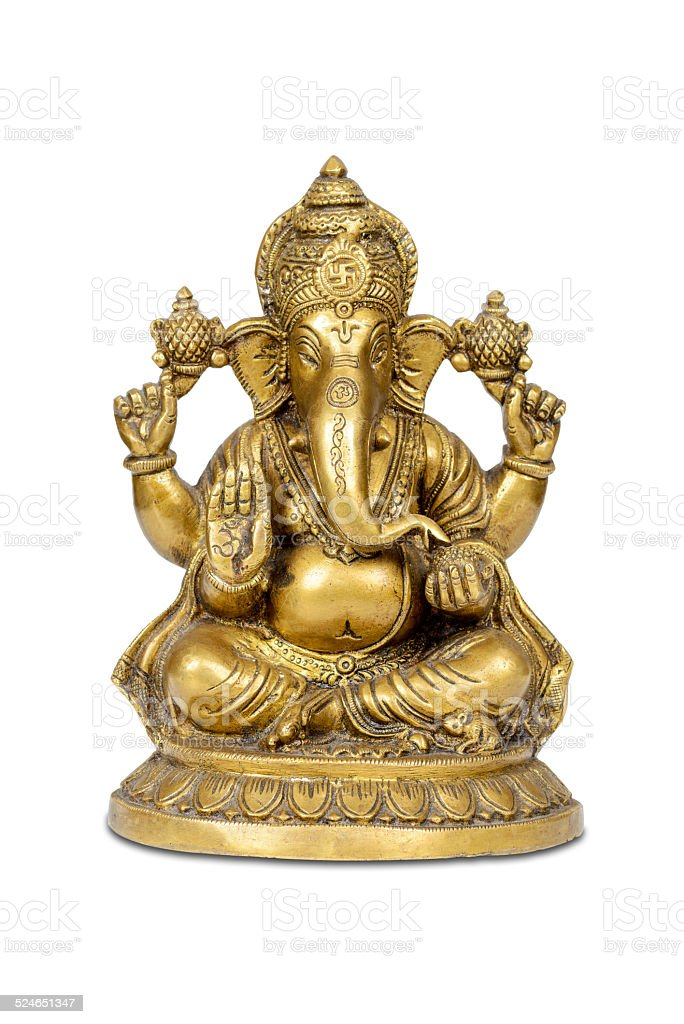 Indian God of success and prosperity. stock photo