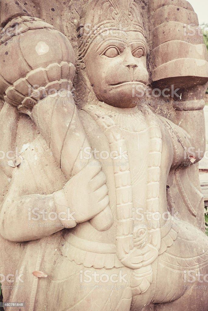 Indian God Statue, Hanuman stock photo