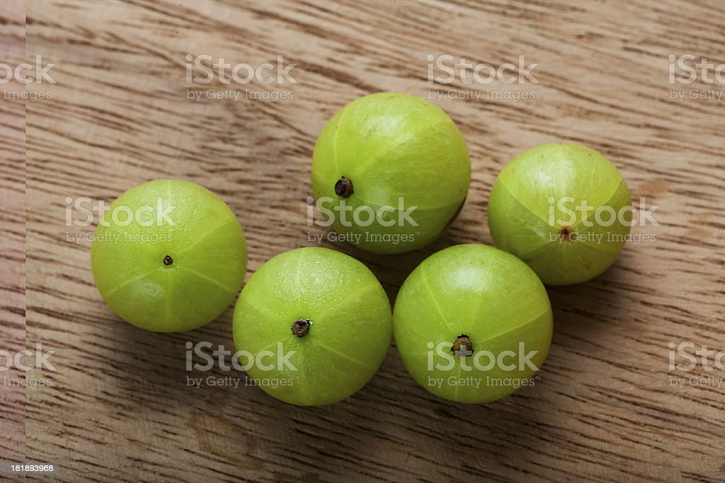Indian Gooseberry royalty-free stock photo