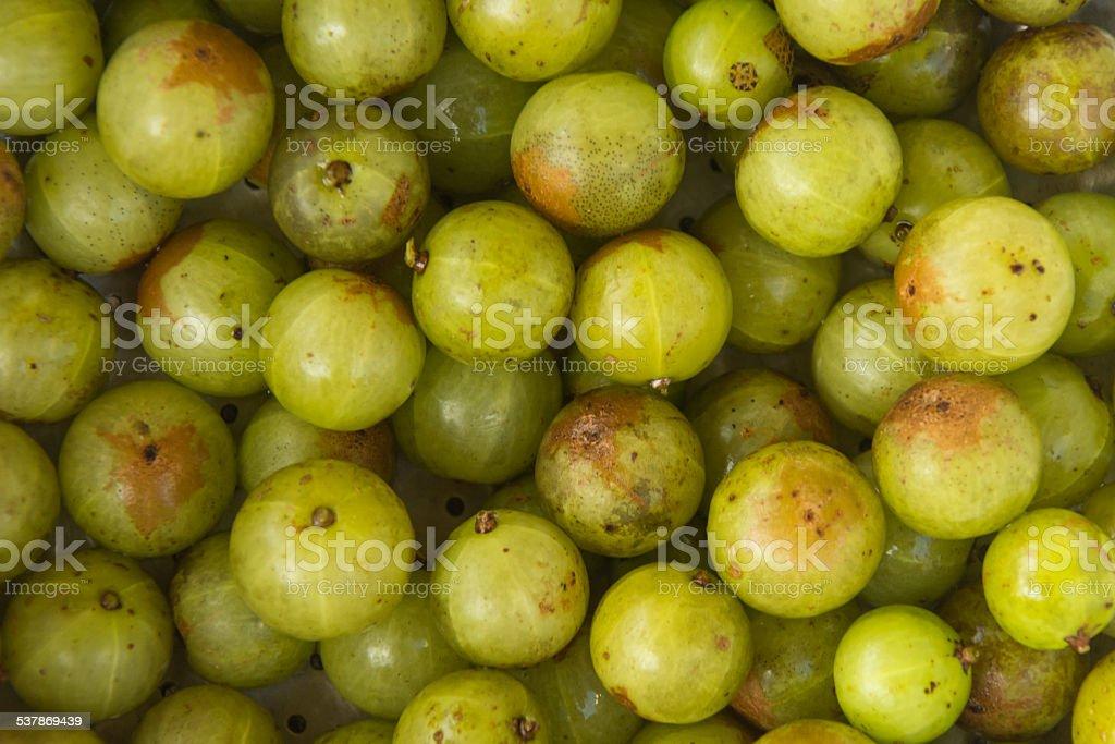 Indian gooseberry stock photo