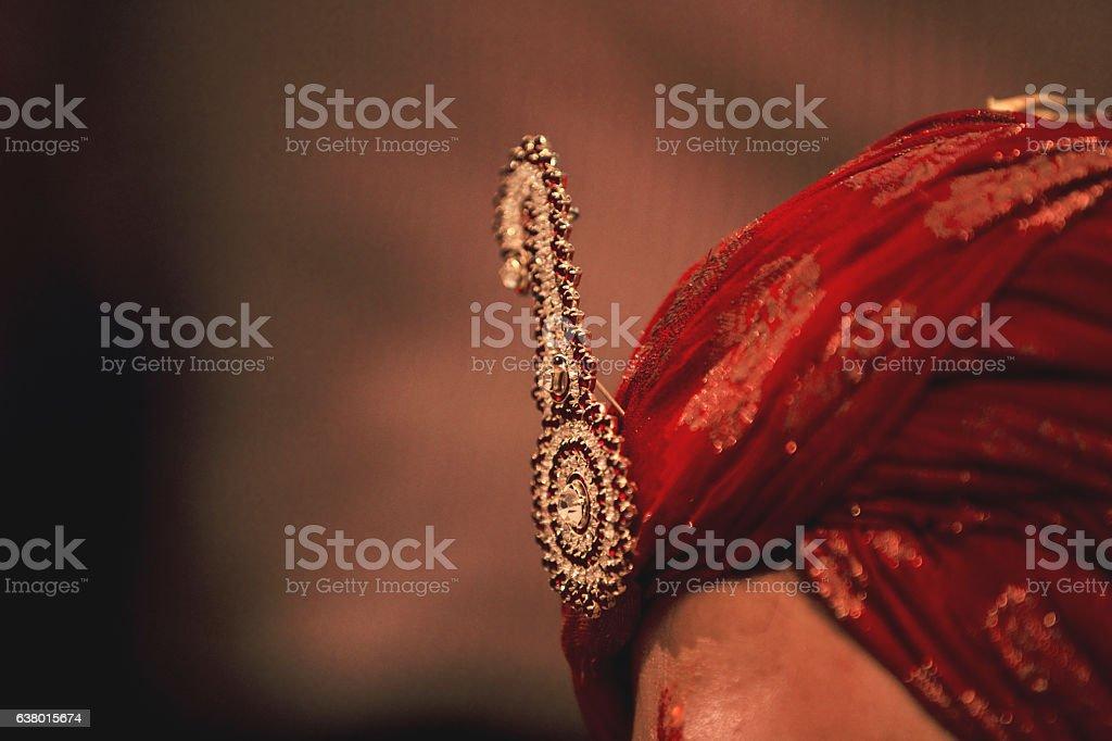 Indian groom stock photo