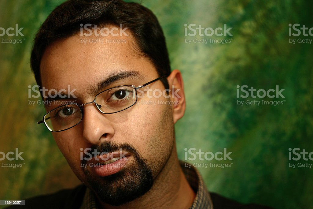 indian guy [2] royalty-free stock photo