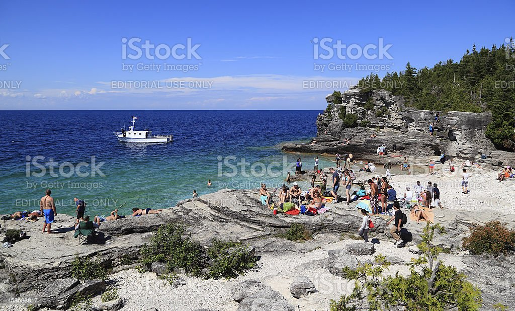 Indian Head Cove stock photo