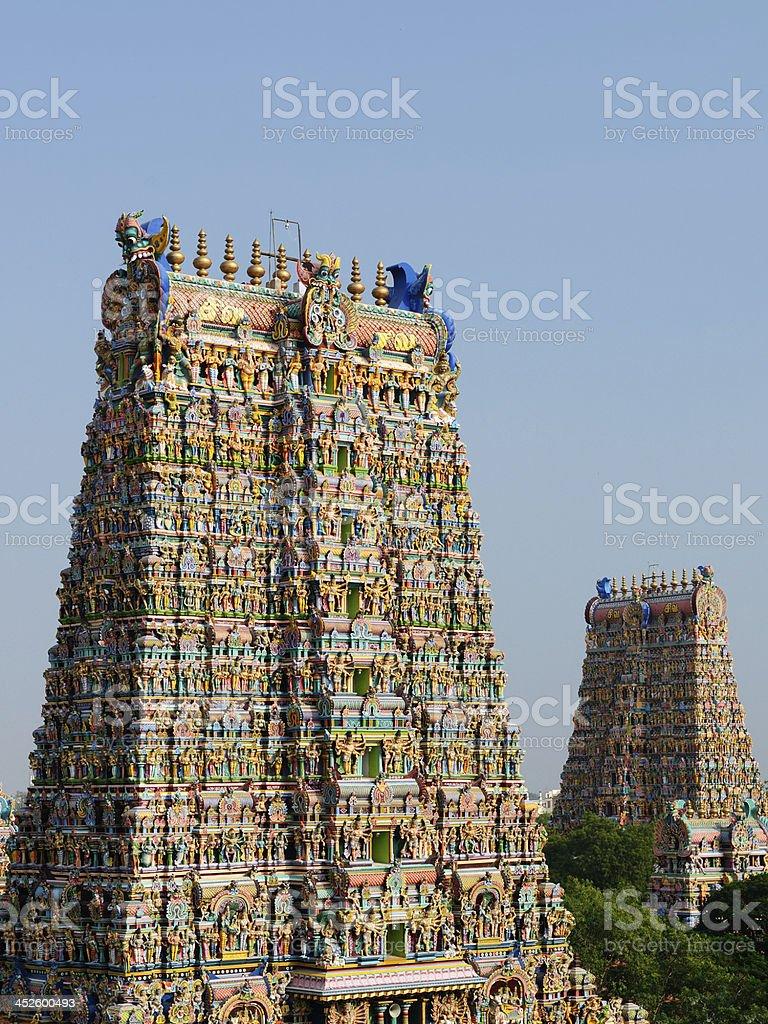 Indian hindu temple stock photo