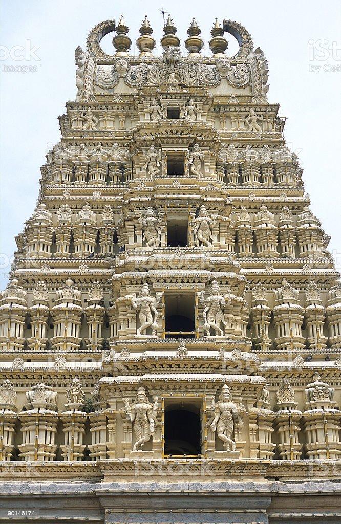 Indian Hindu Temple royalty-free stock photo