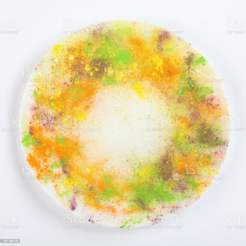 Indian Holi festival colours stock photo