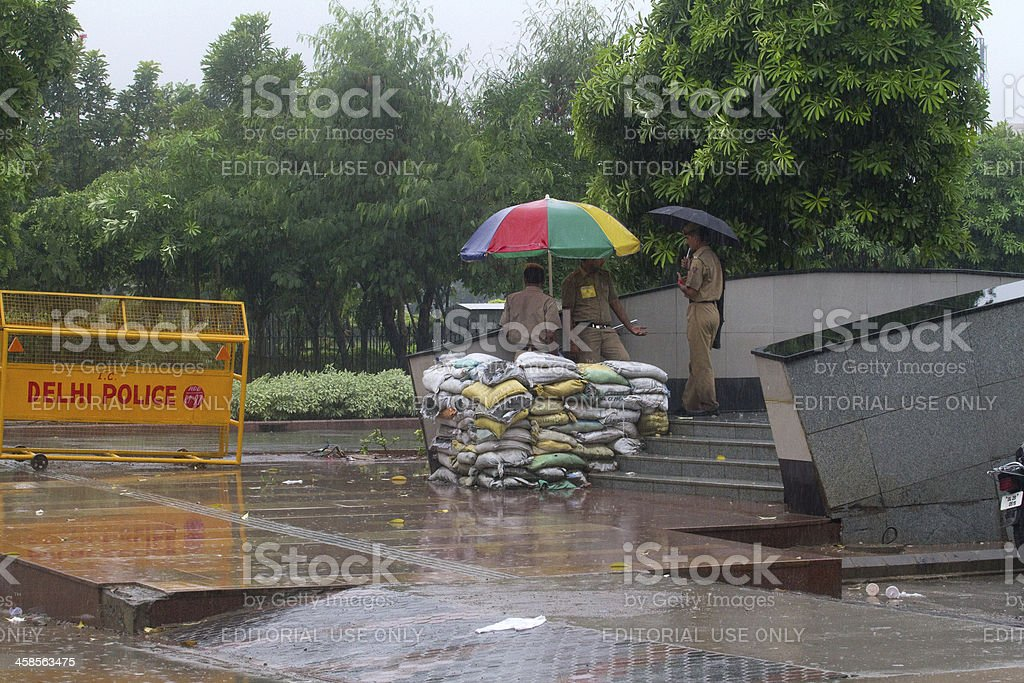 Indian Independence day security forces royalty-free stock photo