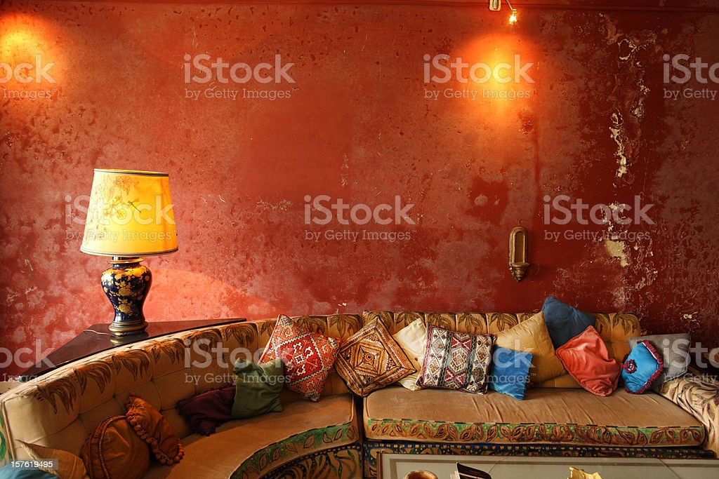 Indian Interior royalty-free stock photo