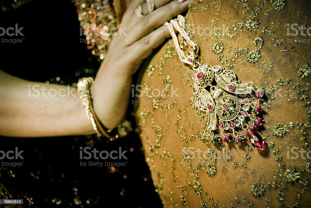Indian Jewellery royalty-free stock photo