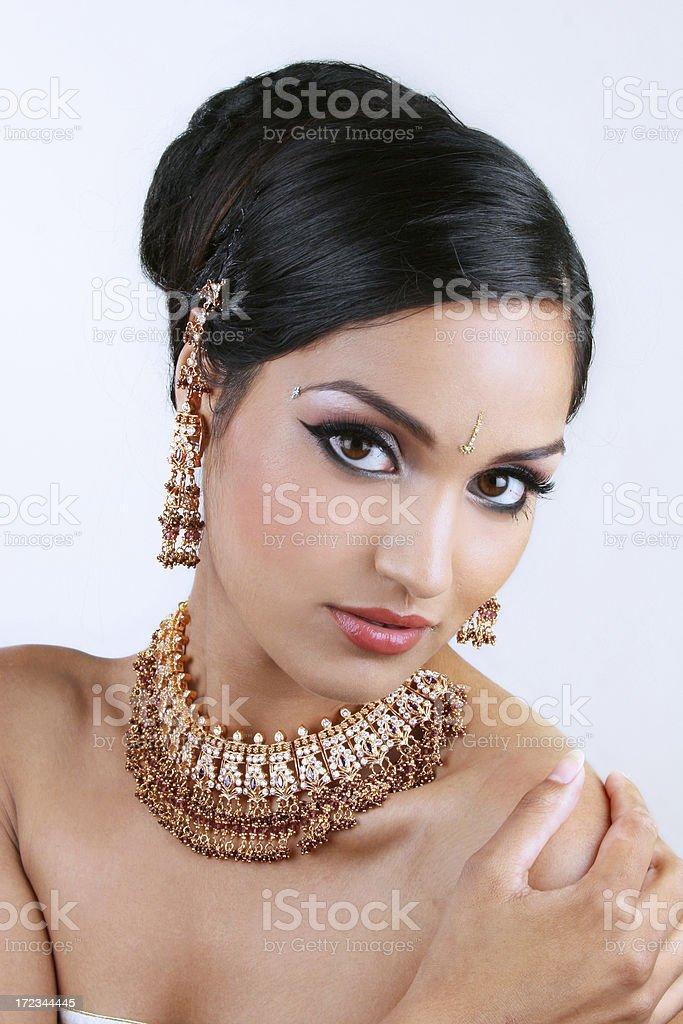 Indian Jewels - Chaya royalty-free stock photo