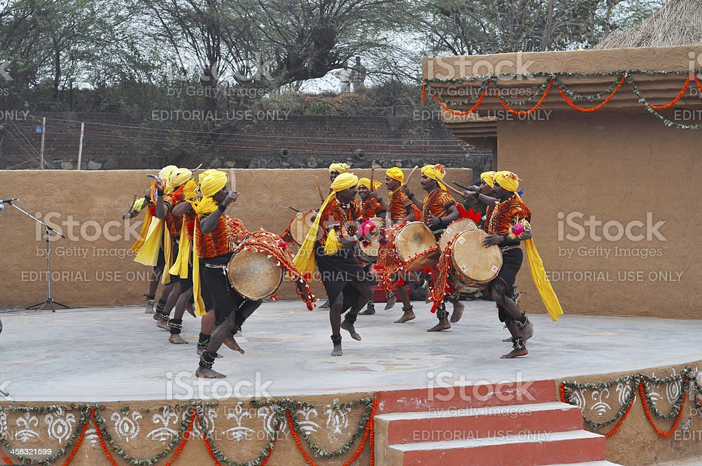 Indian Karnataka Dance royalty-free stock photo