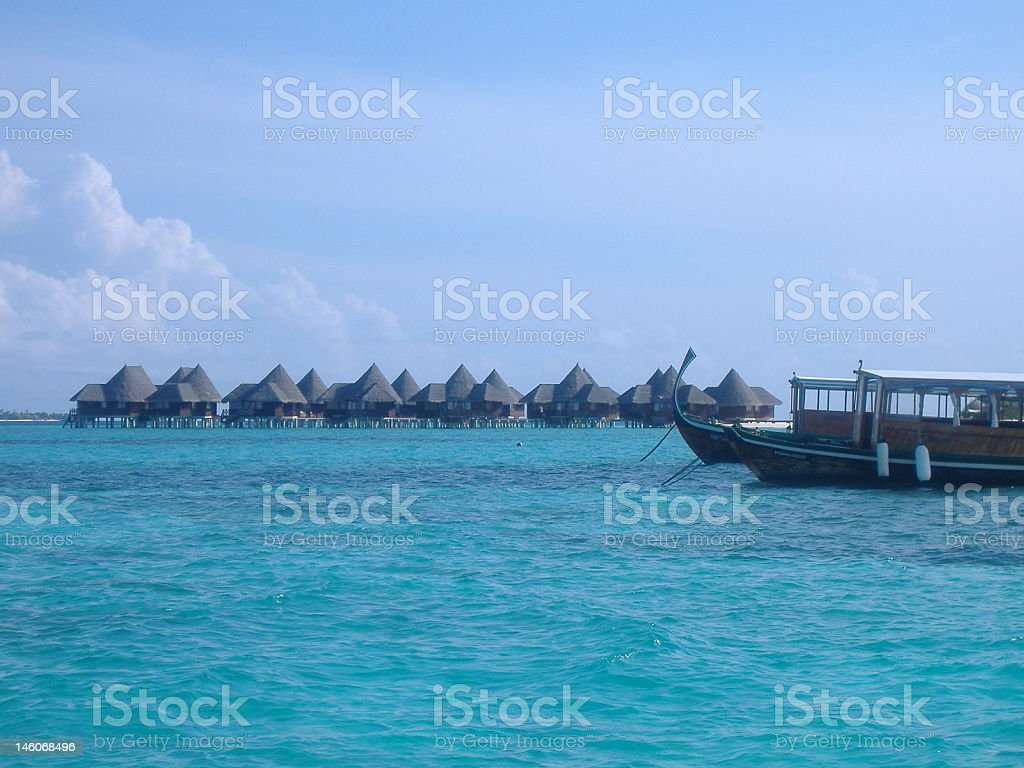 Indian Lagoon royalty-free stock photo