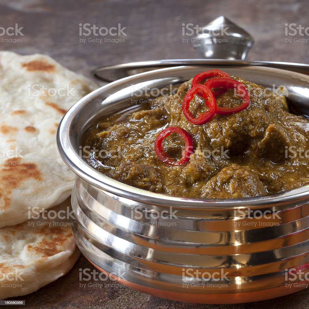 Indian Lamb Korma royalty-free stock photo