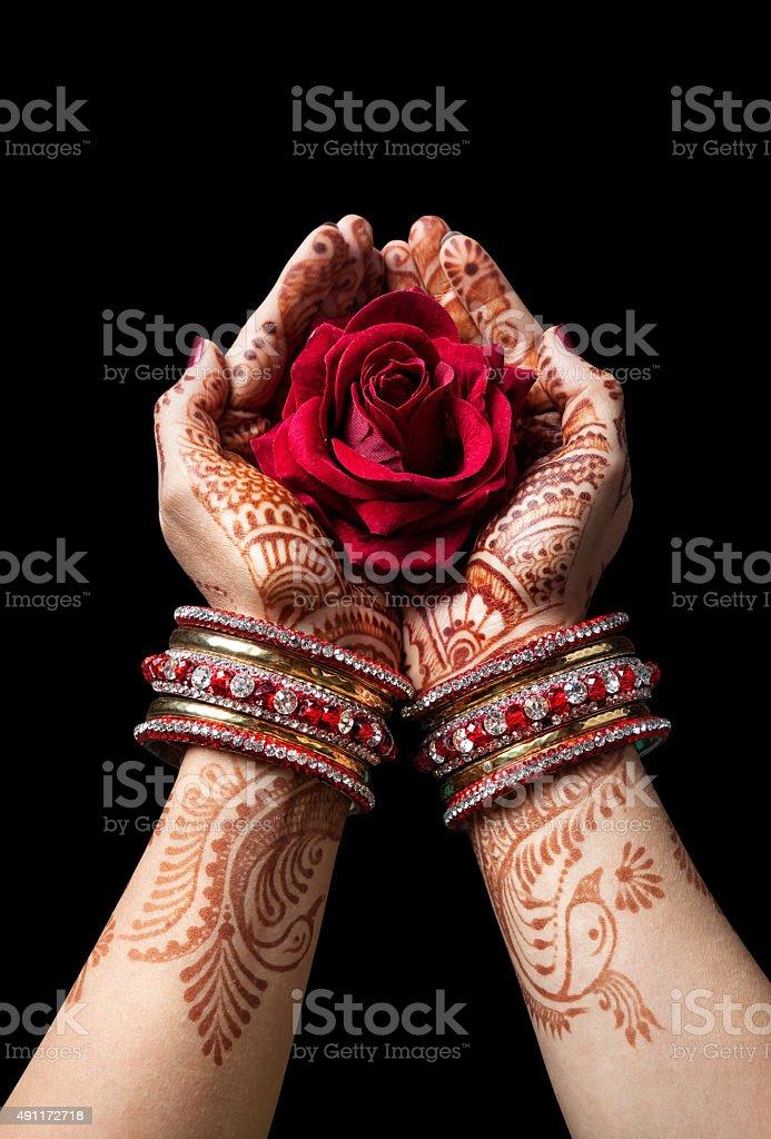 Indian love stock photo