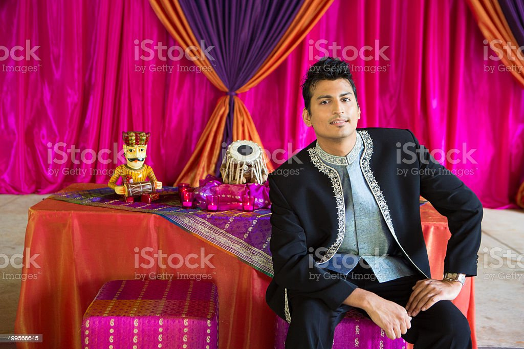 Indian Male Traditional stock photo