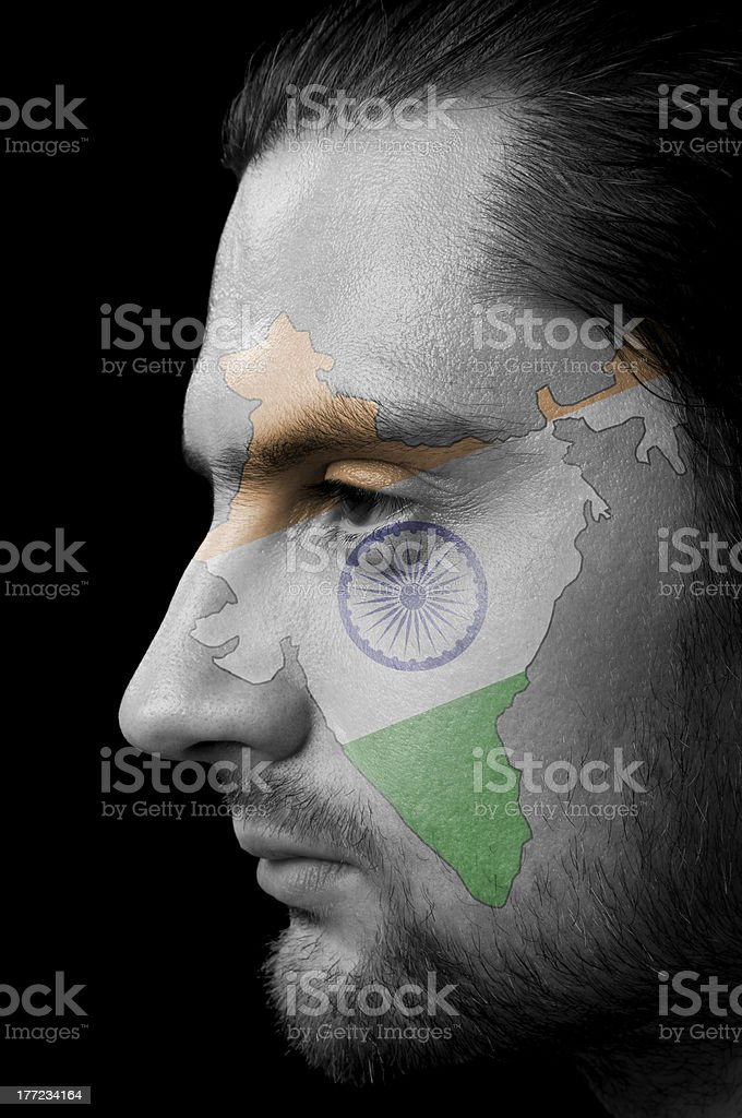 Indian men stock photo