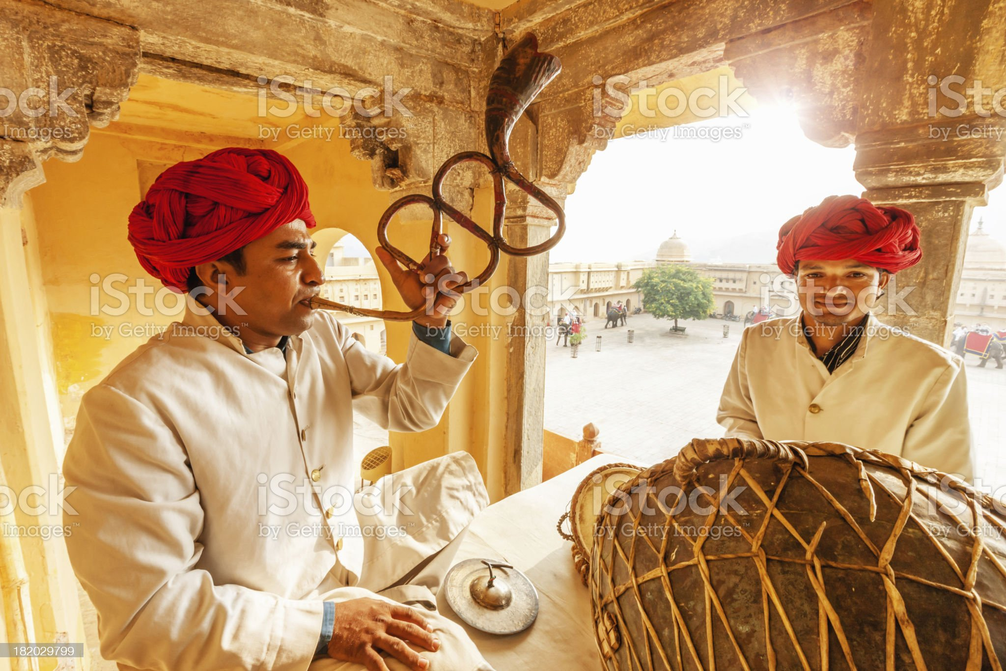 Indian Musicians Jaipur,India royalty-free stock photo