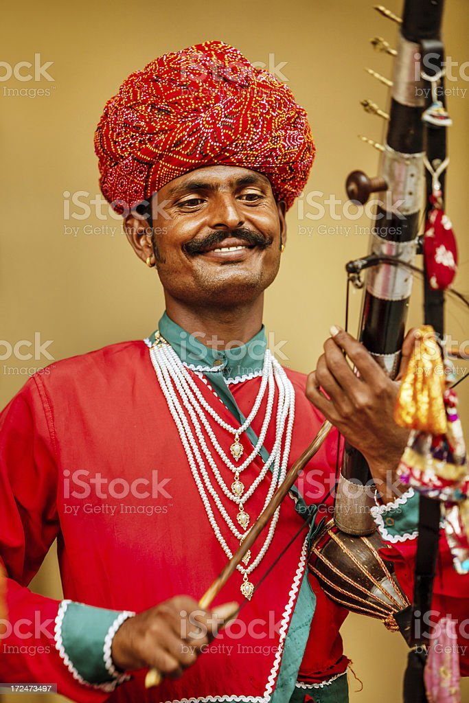 Indian Musicians royalty-free stock photo