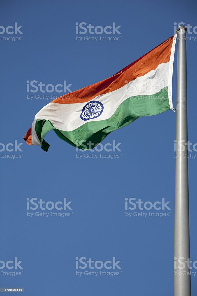Indian National Flag royalty-free stock photo