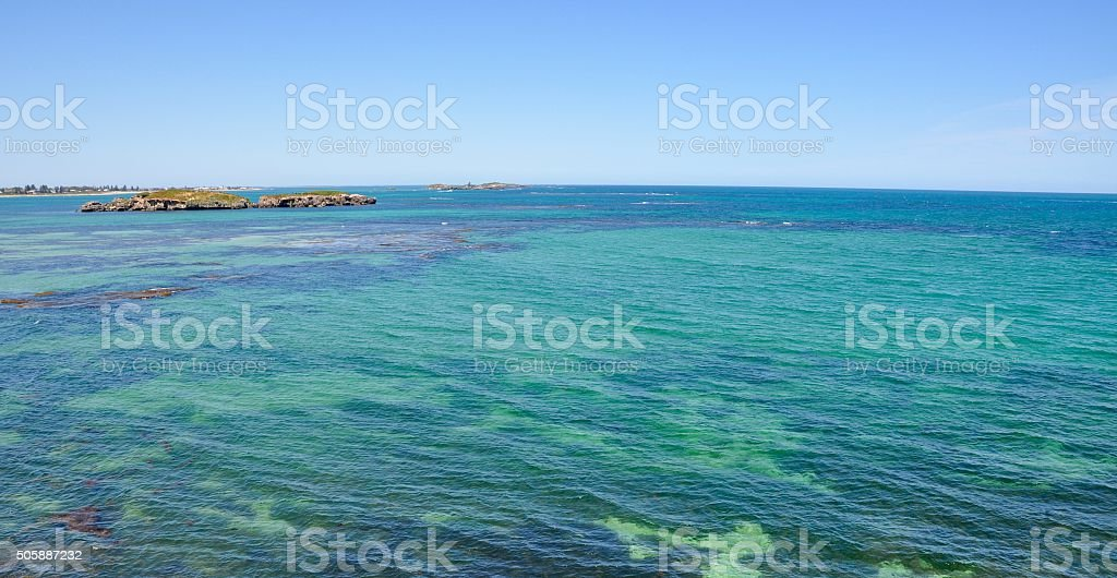 Indian Ocean Seascape: Western Australia stock photo