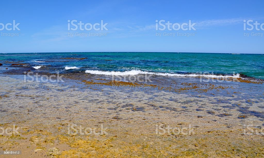 Indian Ocean Waters: Point Peron stock photo