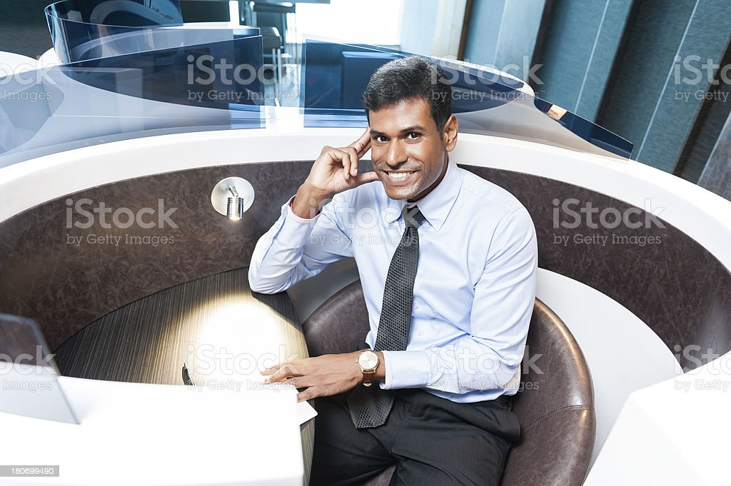 Indian Office Worker stock photo