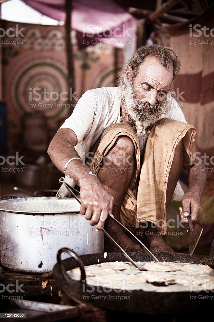 Indian pancakes stock photo