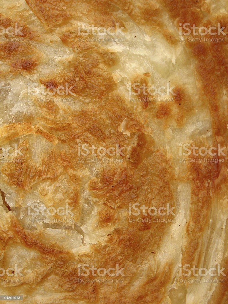 Indian Paratha stock photo