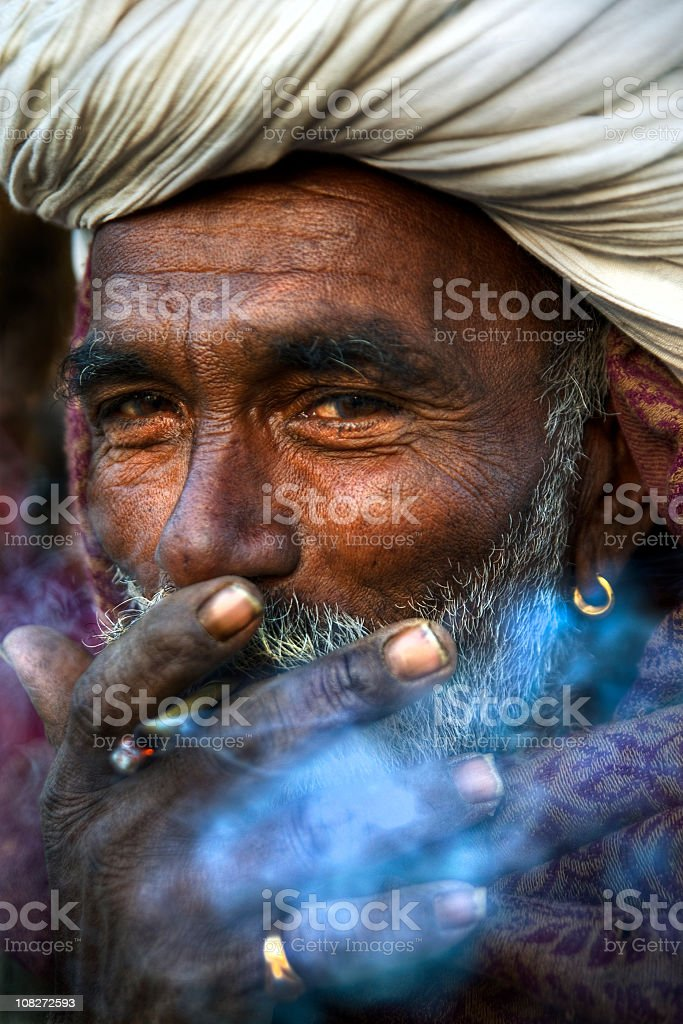 Indian Portrait royalty-free stock photo