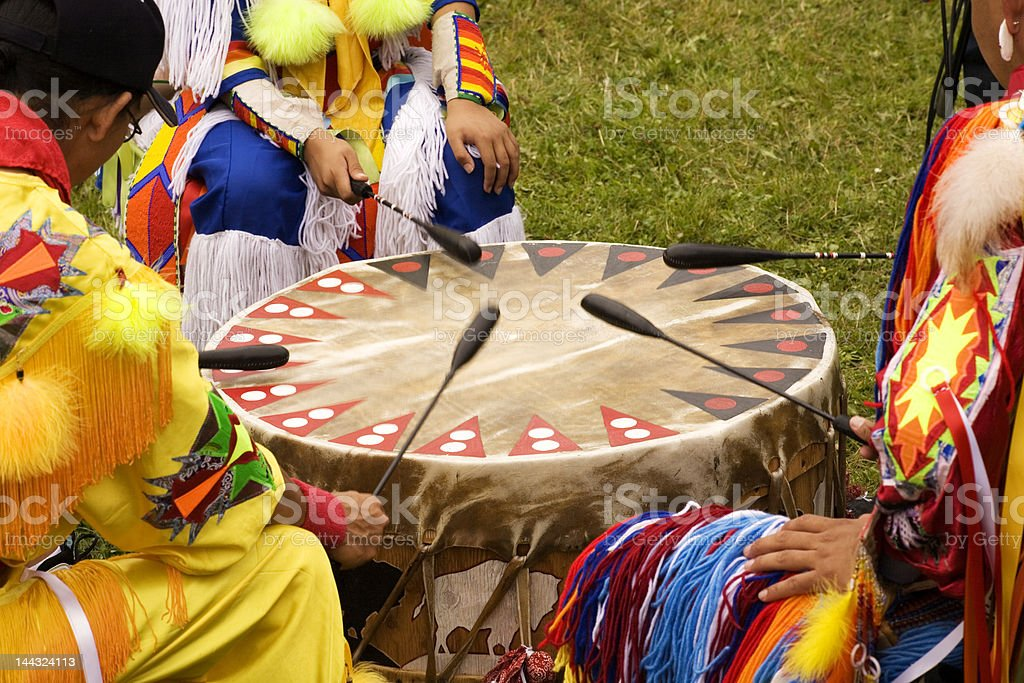 Indian Pow Wow stock photo