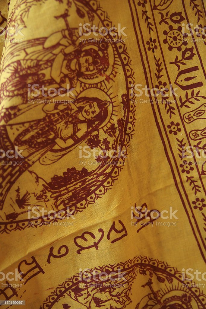 Indian Prayer Flag royalty-free stock photo
