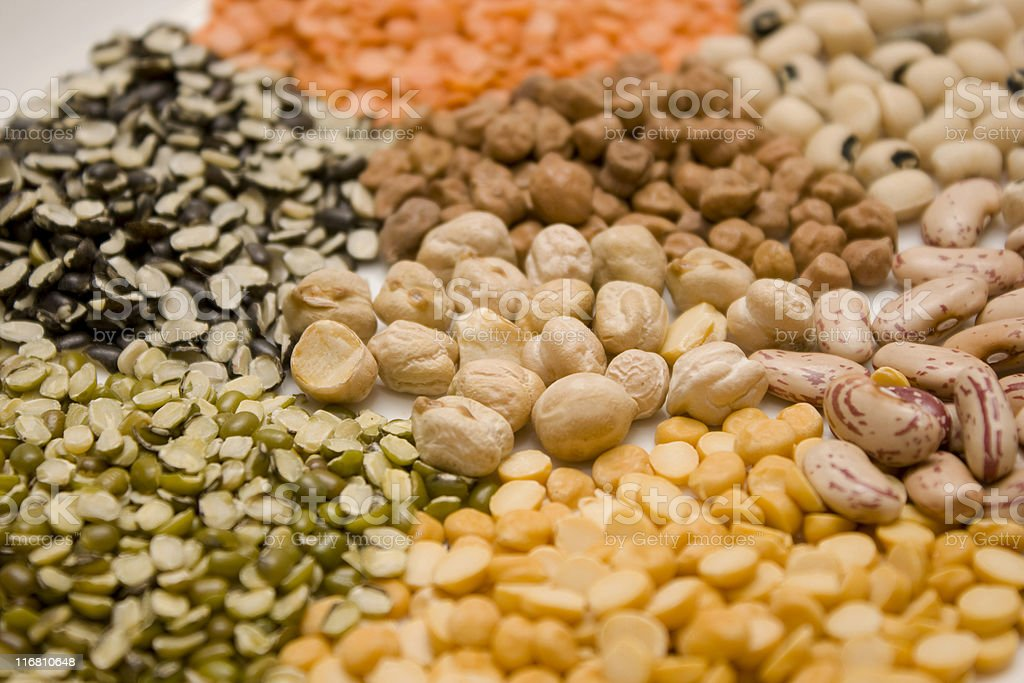 Indian Pulses/Lentils stock photo