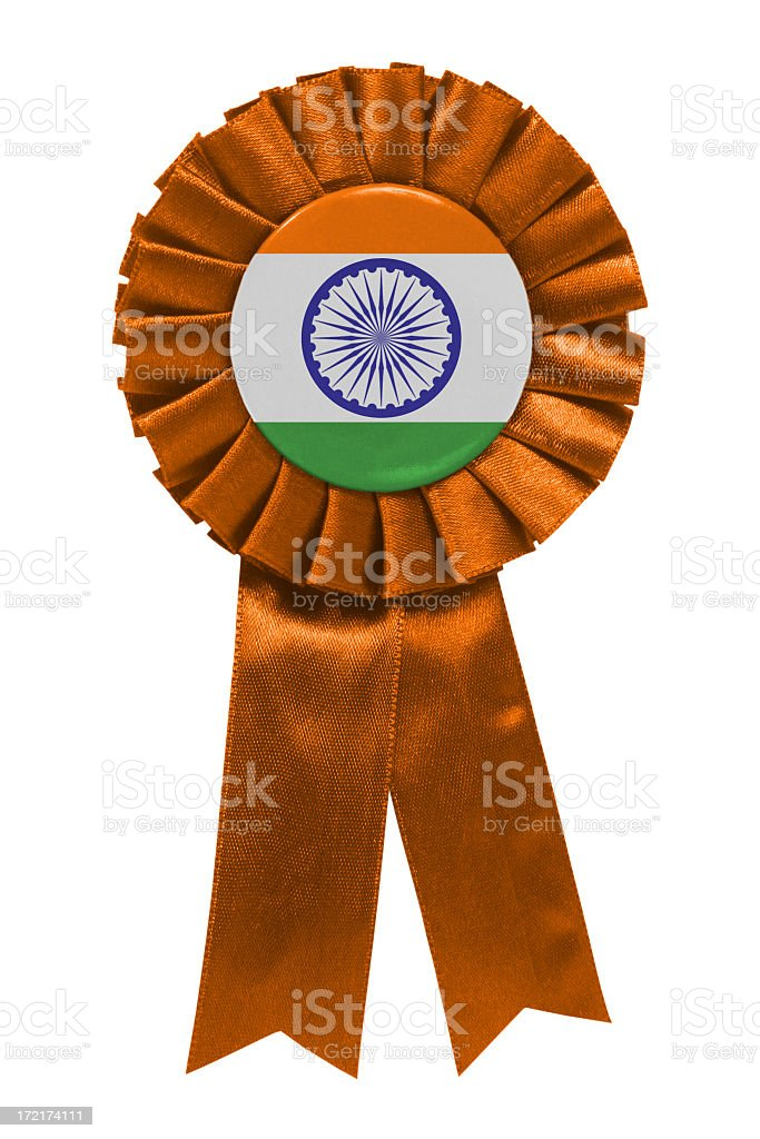 Indian ribbon royalty-free stock photo