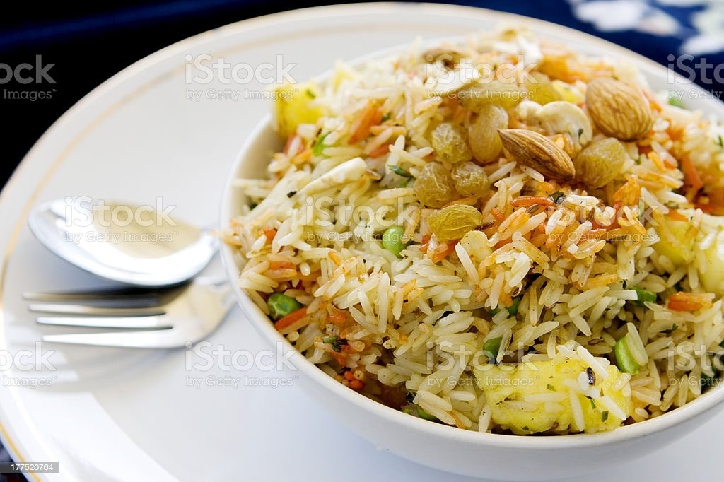 Indian rice royalty-free stock photo