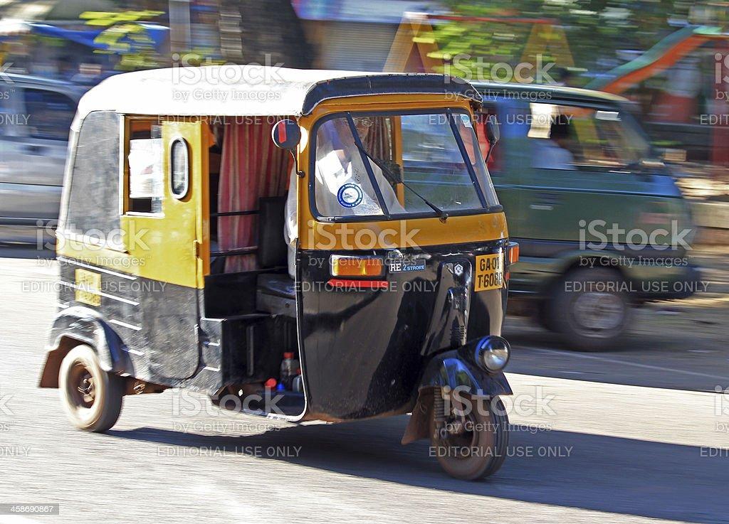 Indian Rickshaw royalty-free stock photo