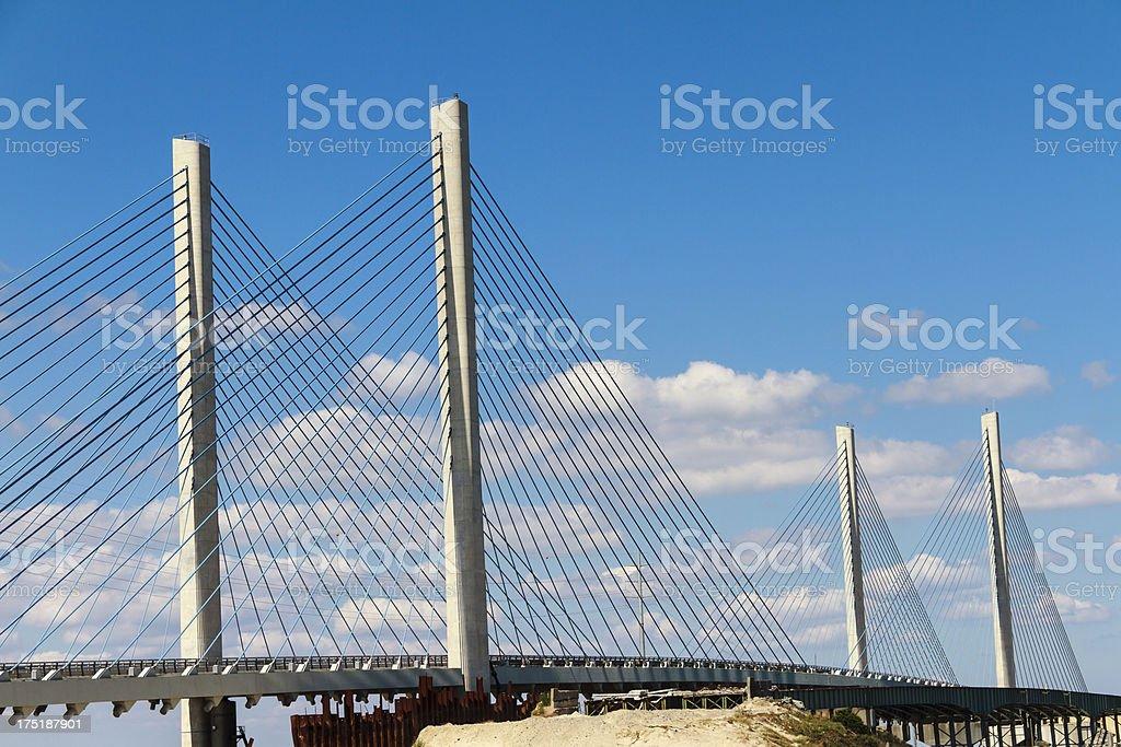 Indian River Inlet Bridge In Delaware stock photo