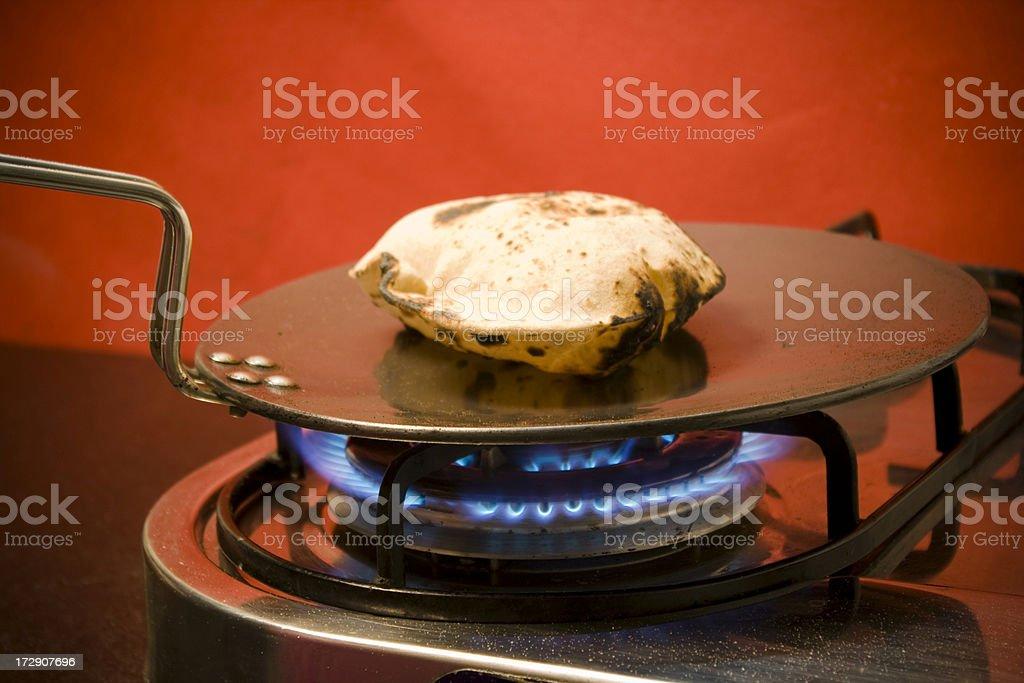 Indian Roti Chapatti Bread stock photo