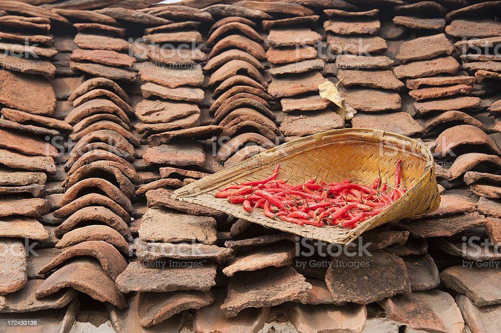 Indian Rural Scene royalty-free stock photo