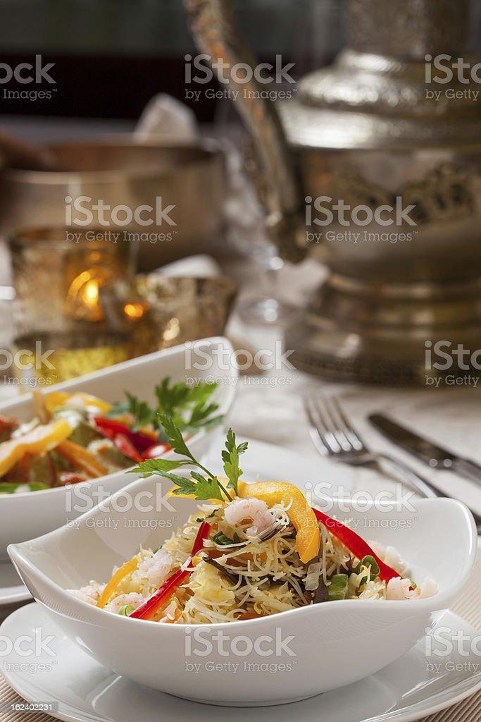 indian salad royalty-free stock photo