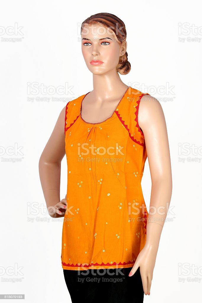indian salwar kameez and stole collection stock photo