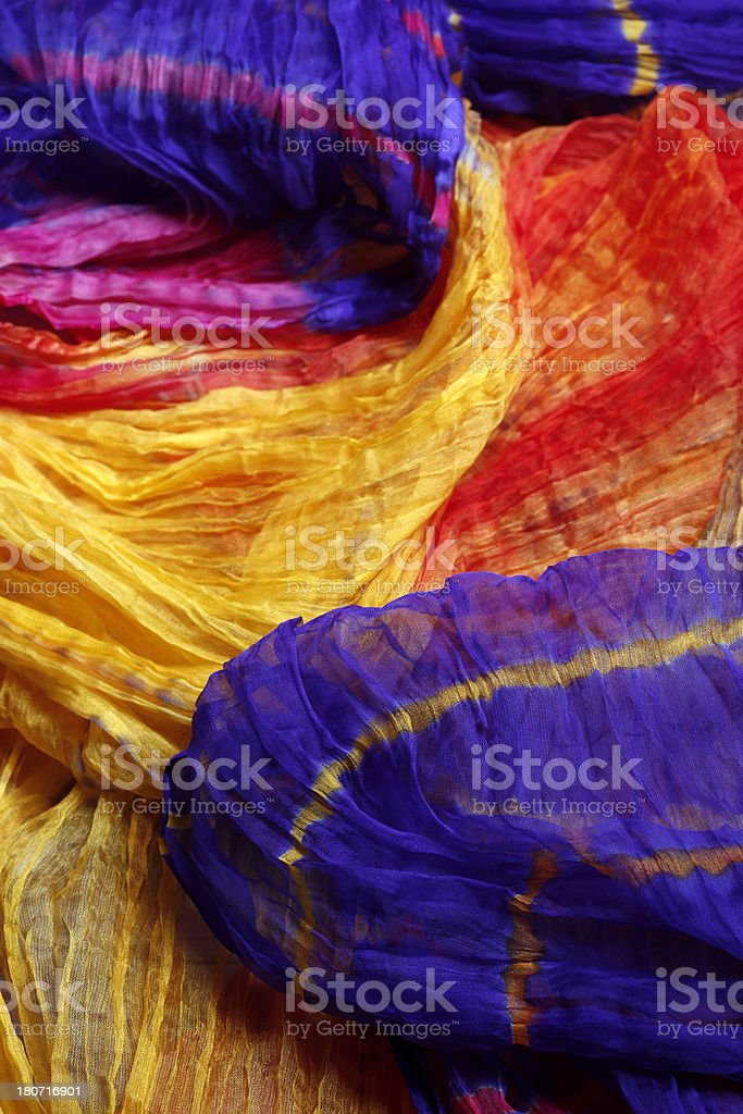 Indian Sari stock photo